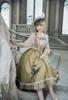 Model Show (Off-White + Light Grey Stripes Ver.) (blouse: TP00186, skirt: SP00215, underskirt: UN00030)