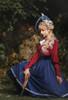 Model Show (Dark Blue + Shadow Blue Stripes Ver.) (blouse: TP00186, skirt: SP00215, underskirt: UN00030)