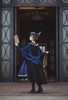 Model Show (Navy Blue Ver.) (beret: P00692, long black cape: CT00321, blouse: TP00186, skirt: SP00215, underskirt: UN00030)