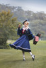 Model Show (Navy Blue Ver.) (beret: P00692, blouse: TP00186, skirt: SP00215, underskirt: UN00030)