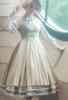 Model Show (Pale Sage Green Stripes Ver.) (beret: P00692, blouse: TP00186, underskirt: UN00030)