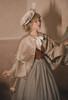 Model Show (Light Grey Stripes Ver.) (beret: P00692, cape: CT00320, vest JSK: DR00273, blouse underneath: TP00186, underskirt: UN00030)