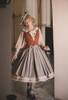 Model Show (Light Grey Stripes Ver.) (beret: P00692, vest JSK: DR00273, blouse underneath: TP00186, underskirt: UN00030)