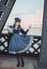 Model Show (Shadow Blue Stripes Ver.) (beret: P00692, blouse: TP00186, underskirt: UN00030)