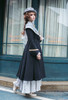 Model Show (Grey Ver.) (coat: CT00322, long dress underneath: DR00276)