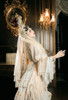 Model Show (White Beads Pendants Ver.) (head scarf: P00695, dress: DR00276, overskirt: Y00045)