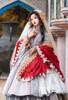 Model Show (Red Beads Pendants Ver.) (shawl: P00695, dress: DR00276S with optional underskirt UN00032S, petticoat: UN00028)