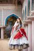 Model Show (Burgundy Ver.) (veil set: P00696, dress: DR00276S with optional underskirt UN00032S, petticoat: UN00028)