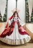 Model Show (Burgundy Ver.) (dress: DR00276 with optional underskirt UN00032 &  gift petticoat, overskirt: Y00045)