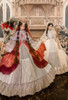 Model Show (dress: DR00276 with optional underskirt UN00032 &  gift petticoat, overskirt: Y00045)