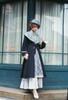 Model Show (Deep Grey Ver.) (hat: P00699, long dress underneath: DR00276)