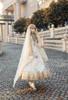 Model Show (Pale Beige + Mint Ver. with Optional Underskirt UN00032S) (head scarf: P00695, veil set: P00696)