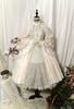 Pale Beige + Mint Ver.  (tulle skirt underneath: UN00030, petticoat: UN00028)