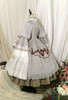 Light Grey Ver. with Optional Underskirt UN00032S (tulle skirt underneath: UN00030, petticoat: UN00028)