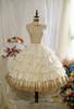 OPTIONAL Underskirt UN00032S (Pale Beige Ver.) (tulle skirt underneath: UN00030, petticoat: UN00028)