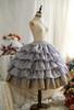 OPTIONAL Underskirt UN00032S (Grey Ver.) (tulle skirt underneath: UN00030, petticoat: UN00028)