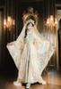 Model Show (Pale Beige + Mint Ver.) (head scarf: P00695, veil set: P00696, corset skirt piece: Y00045)