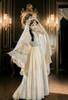 Model Show (Pale Beige + Mint Ver.) (head scarf: P00695, veil set: P00696)