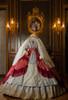Light Grey Ver. with Optional Underskirt UN00032 and gift petticoat UN00033 (veil set: P00696, corset skirt piece: Y00045)