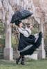 Model Show (Black Ver.) (hat: P00702, dress: DR00242N)