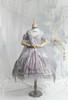Coordinate Show (Pale Lilac Grey + Greyish Pink + Light Khaki Ver.) (JSK: DR00278 with optional big bow P00704, cape: TP00192, overskirt: SP00219, petticoat: UN00028)