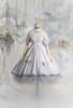 Coordinate Show (Pale Lilac Grey + Greyish Pink + Light Khaki Ver.) (dress: DR00279 with optional bustle piece P00709, petticoat: UN00028)