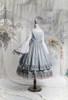 Moss Grey + White Ver. (petticoat: CT00040S, UN00028)