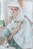 Model Show (Pale Mint Ver. with optional bustle piece P00709) (bonnet: P00706, underskirt: UN00030N)