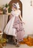 Model Show (Pale Lilac Ver. with optional bustle piece P00709) (headdress: P00710, bonnet: P00706, underskirt: UN00030N)