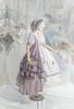 Coordinate Show (Pale Lilac Ver. with optional bustle piece P00709) (bonnet: P00706, brooch: P00710, underskirt: UN00030N, petticoat: UN00028)