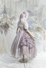 Coordinate Show (Pale Lilac Ver. with optional bustle piece P00709) (bonnet: P00706, underskirt: UN00030N, petticoat: UN00028)