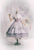Coordinate Show (Pale Lilac Ver. with optional bustle piece P00709) (headdress: P00710, corset: Y00043, overskirt: SP00219, underskirt: UN00030N, petticoat: UN00028)