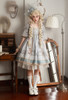Model Show (Lavender Mist Ver.) (headdress: P00711, skorts: UN00034, petticoat: UN00026)