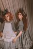 Model Show (Iron Grey Ver.) (headdress: P00712) Girl on LEFT (headdress: P00711, dress: DR00280, apron: DR00281)