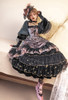 Model Show (Antique Pink Ver.) (headdress: P00715, black dress: DR00288)