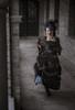 Model Show (Antique Blue Ver.) (headdress: P00715, black dress: DR00288, underskirt: UN00030)