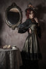 Model Show (Antique Green Ver.) (headdress: P00715S, black dress: DR00288)