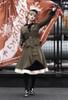 Model Show (Olive Green Ver.) (headdress: P00610N, shirt: TP00139N, skirt: SP00177N, petticoat: UN00026)