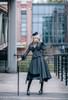 Model Show (Dark Grey Ver.) (headdress: P00610N, shirt: TP00139N, skirt: SP00177N, skirt piece: P00705, underskirt: UN00030)