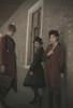 Model Show (Dark Grey & Burgundy Ver.) (headdress: P00610N, shirt: TP00139N, skirt: SP00177N, breeches: SP00019N, petticoat: UN00026) Man on Left wearing (coat: CT00269N, shirt: D00024, skirt piece: P00705)