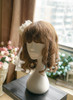 A Midsummer Night's Dream Gothic Elegant Lolita Lace & Rose & Gauze Hairdress