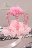 Last Chance: Gothic Lolita Crystal Mini Crown*Pink,Brown