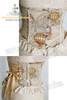 Last Chance: Fire Balloon Adventure Steampunk Lolita: Underbust Steel Boned Corset*2colors
