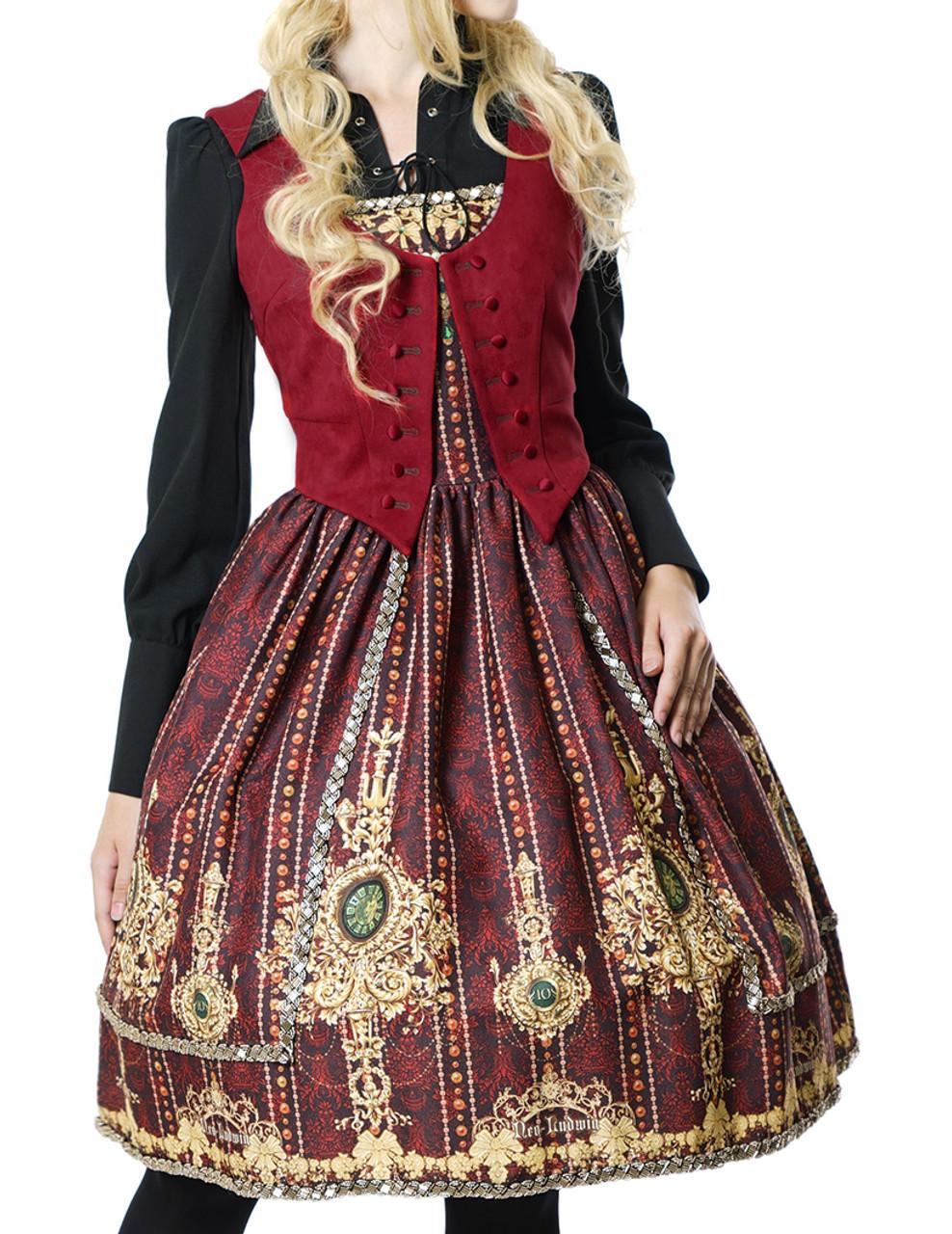 246258e70cd Last Chance  Gothic Lolita Fashion Dress Tuxedo Ball Dress black ...