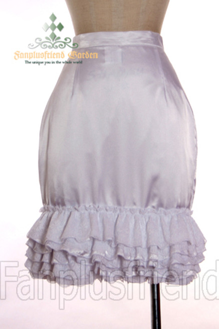 Last Chance: Elegant Gothic Decade Trimmings Fishtail Skirt*2colors Instant Shipping