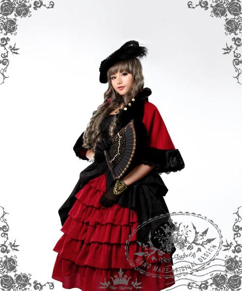 27eb9a367a0 New Romantic Rococo Lolita Victorian Palatial Retro Collar   Sleeves ...