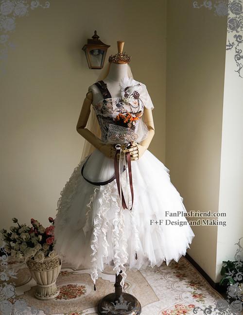 01d701fb1b ... Co-ordinate Show (crown & veil: P00623, corset: Y00041, bouquet ...