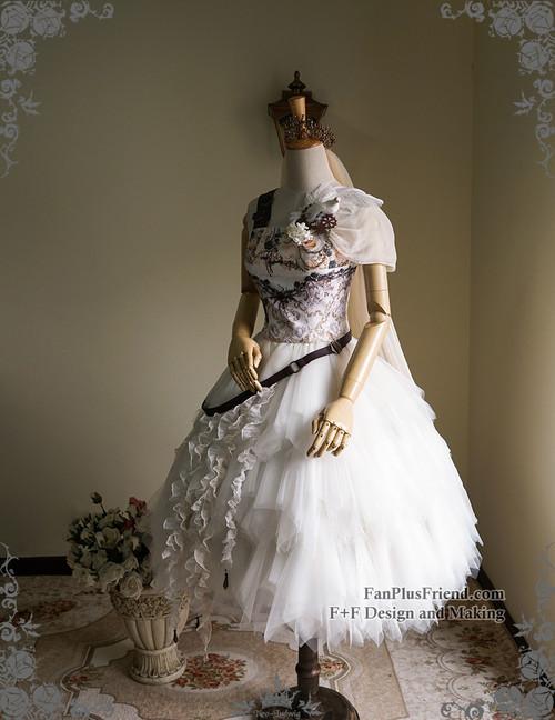 84d00589bc ... Co-ordinate Show (crown & veil: P00623, corset: Y00041, bouquet; Lady  Standard Size Chart; Steampunk Wedding Tulle Skirt Midi Skirt Handmade  Bustle Belt ...
