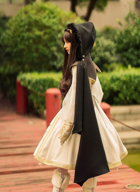 Model Show Dress DR00186, Headdress P00636, Spats P00602