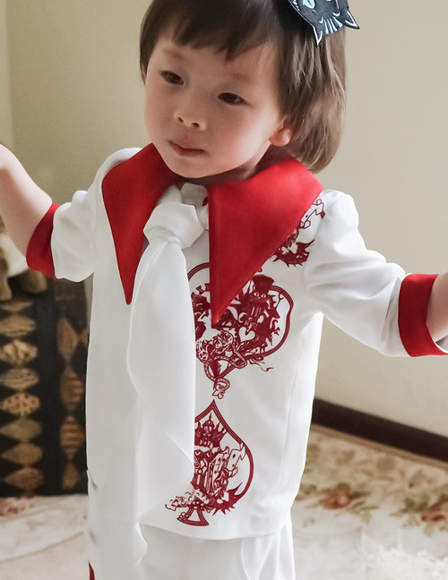Bunny Alice Lolita Parent-Child Clothes Blouse & Scarf for Kids*New 2colors Instant Shipping